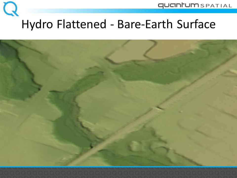 Hydro Flattened - Bare-Earth Surface