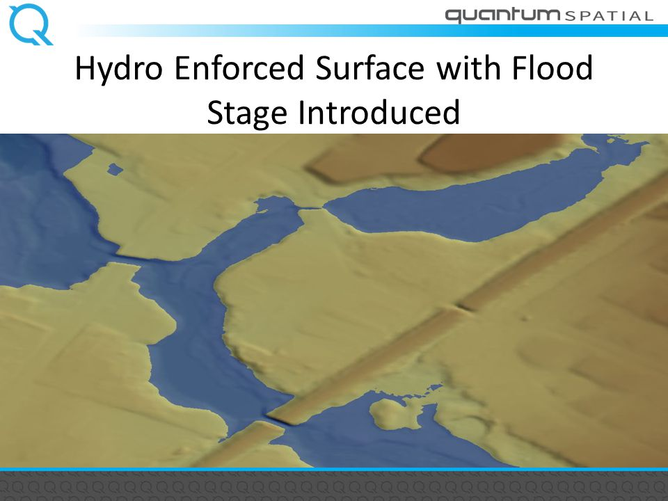Hydro Enforced Surface with Flood Stage Introduced