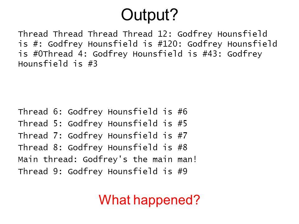 Output.