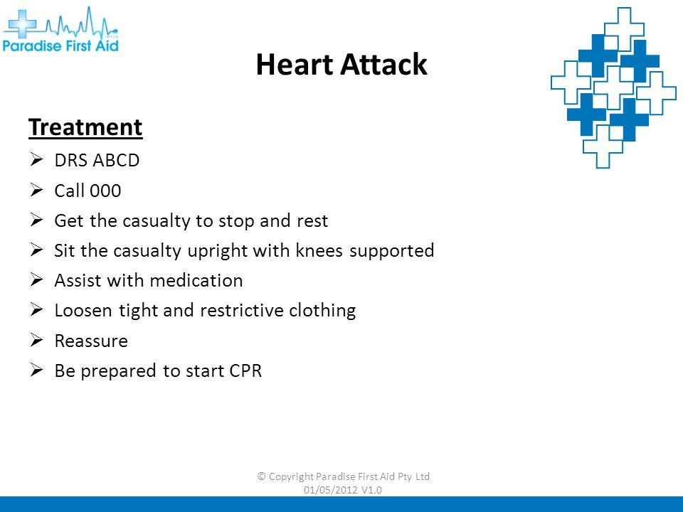 © Copyright Paradise First Aid Pty Ltd 01/05/2012 V1.0 Stroke