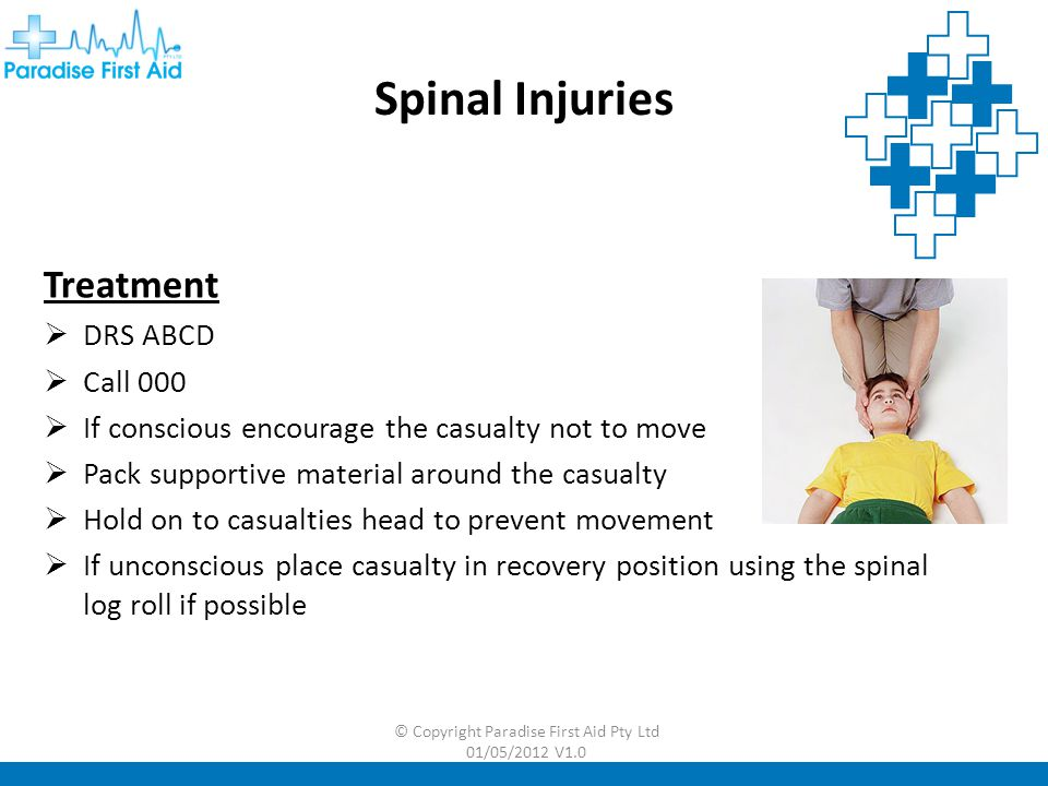 © Copyright Paradise First Aid Pty Ltd 01/05/2012 V1.0 Spinal Log Roll – Practical