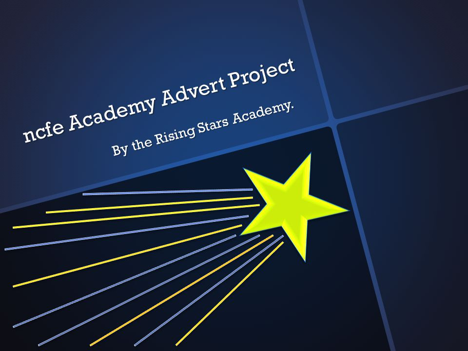 Introduction The Rising Stars Academy