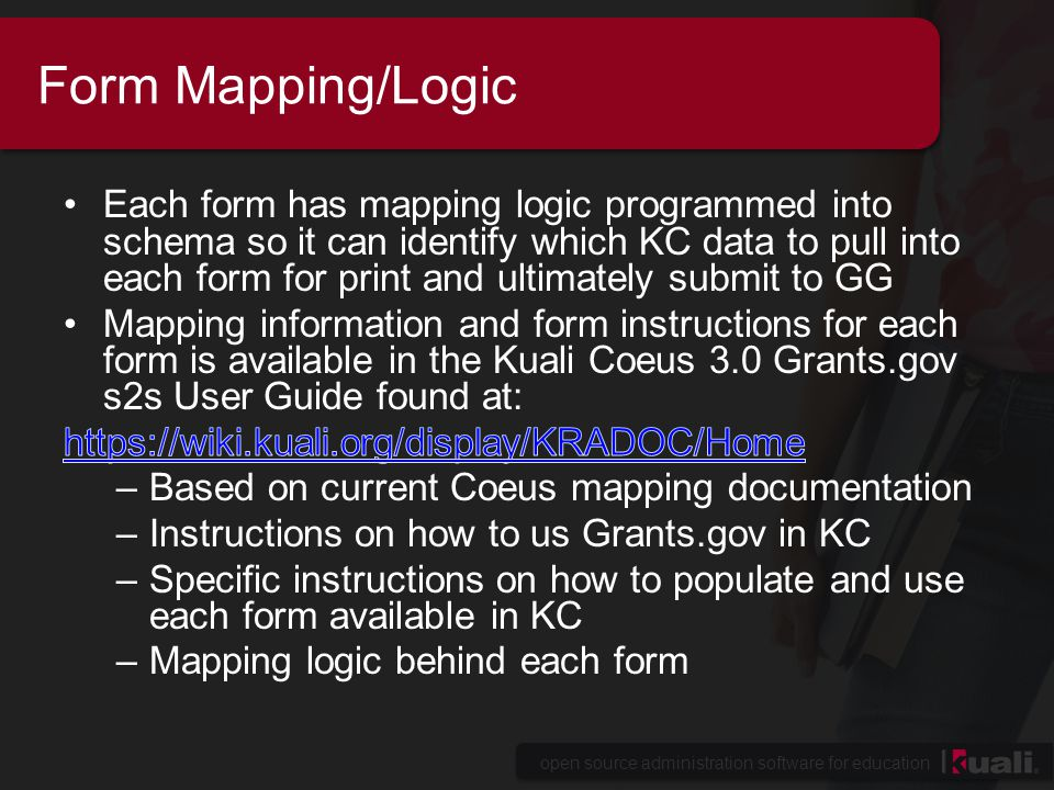 open source administration software for education Implementation Concerns Modifying or deleting table values could affect GG functionality if mapping logic exists e.g., Proposal Type if you change the description order or delete certain entries it will alter mapping logic: