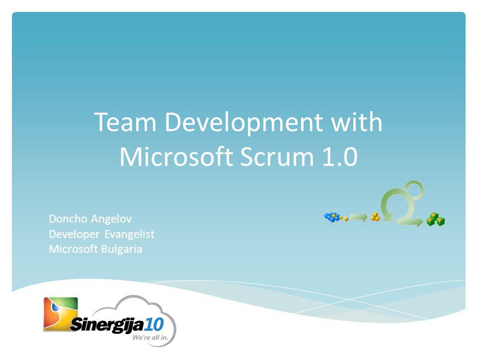 Agenda  SCRUM – quick overview  SCRUM and TFS  Backlog items  Sprint management  Reporting  Sprint Retrospective  Q&A