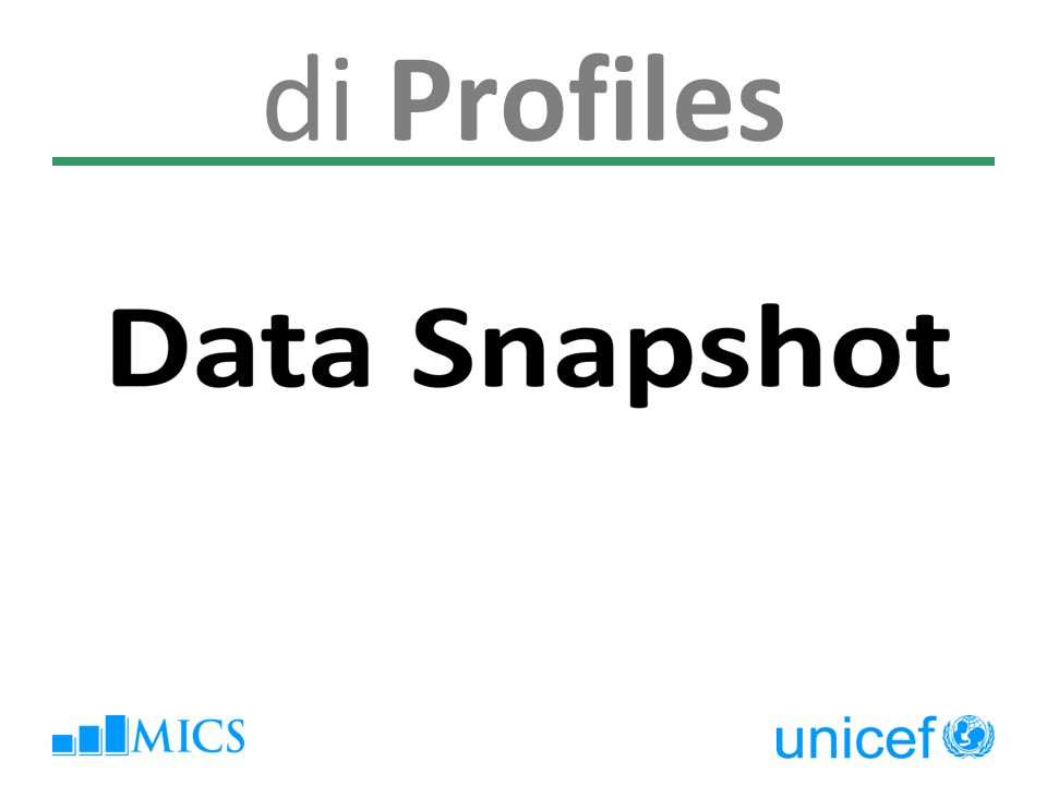 di Profiles Data Snapshot