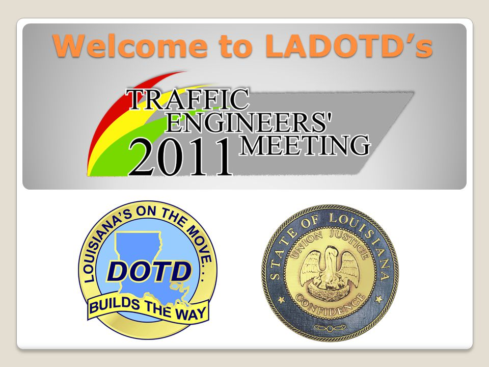Welcome to LADOTD's