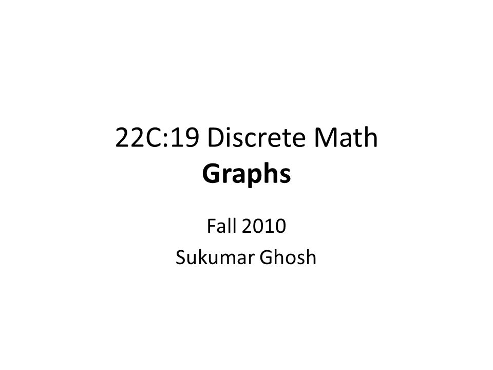 Connectivity  An undirected graph is connected if there is a path between every pair of distinct vertices of the graph.