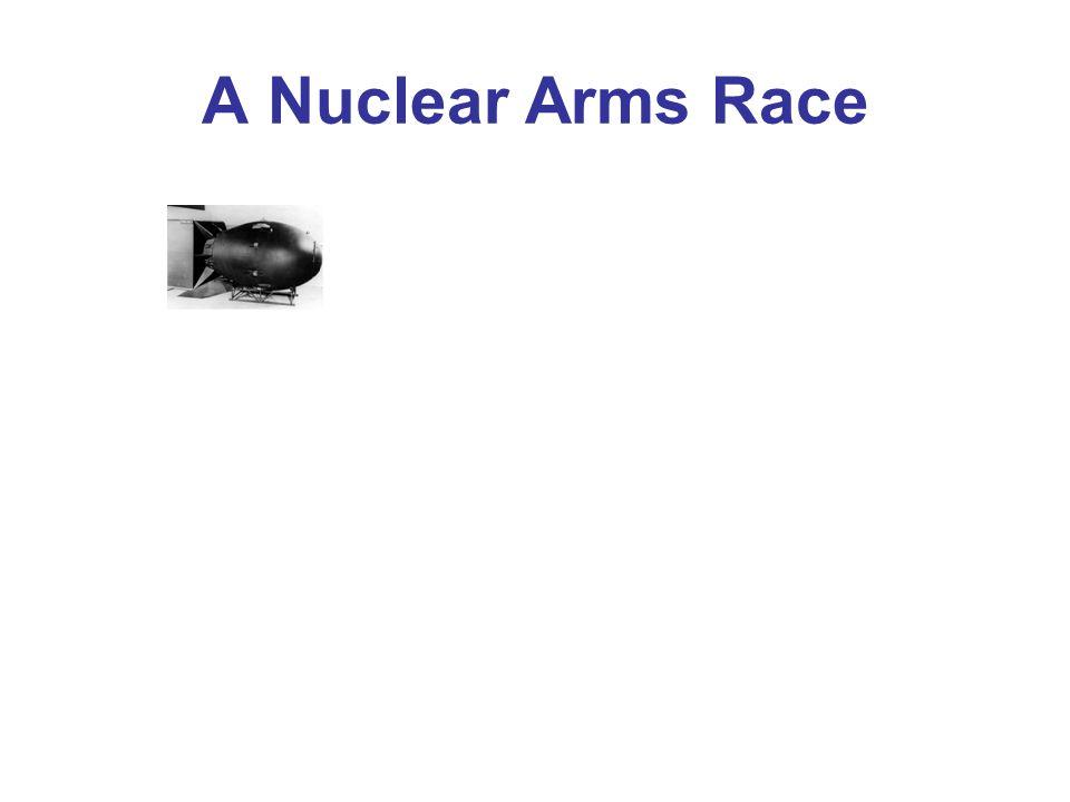 A Nuclear Arms Race