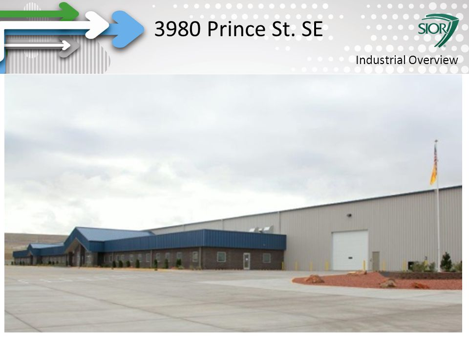 Society of Industrial and Office REALTORS® 3980 Prince St. SE Industrial Overview