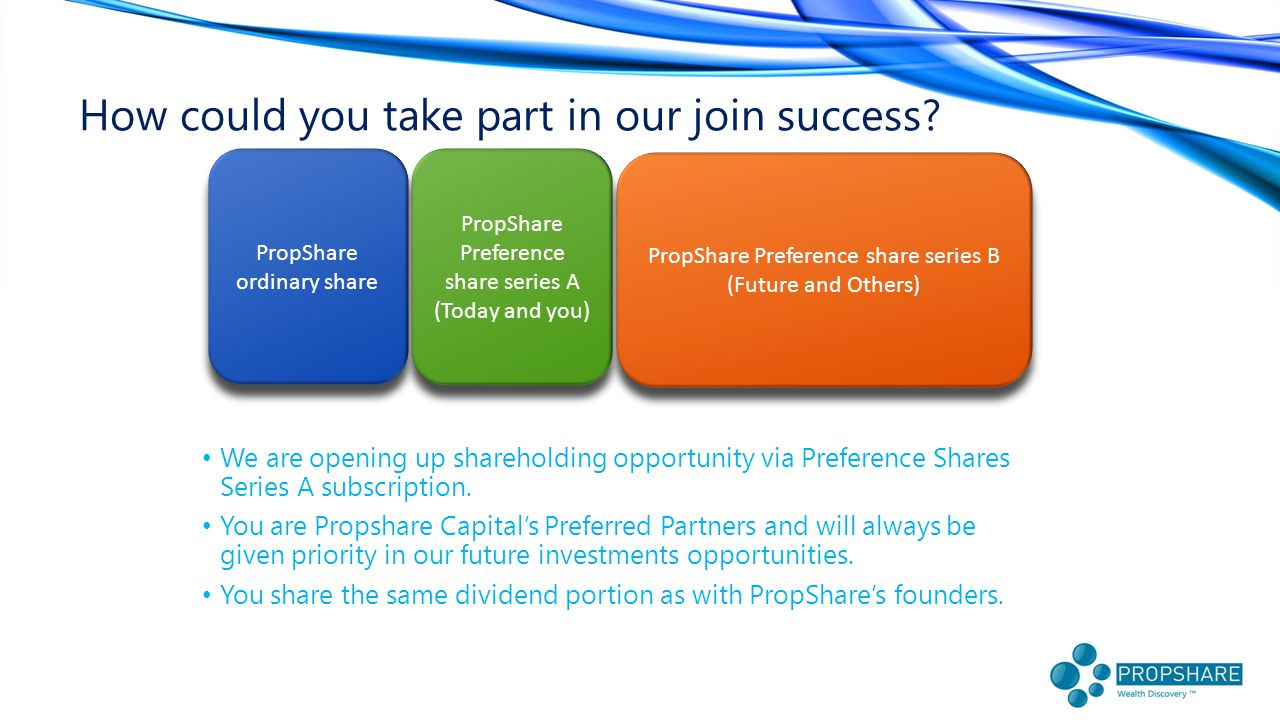 How could you take part in our join success.