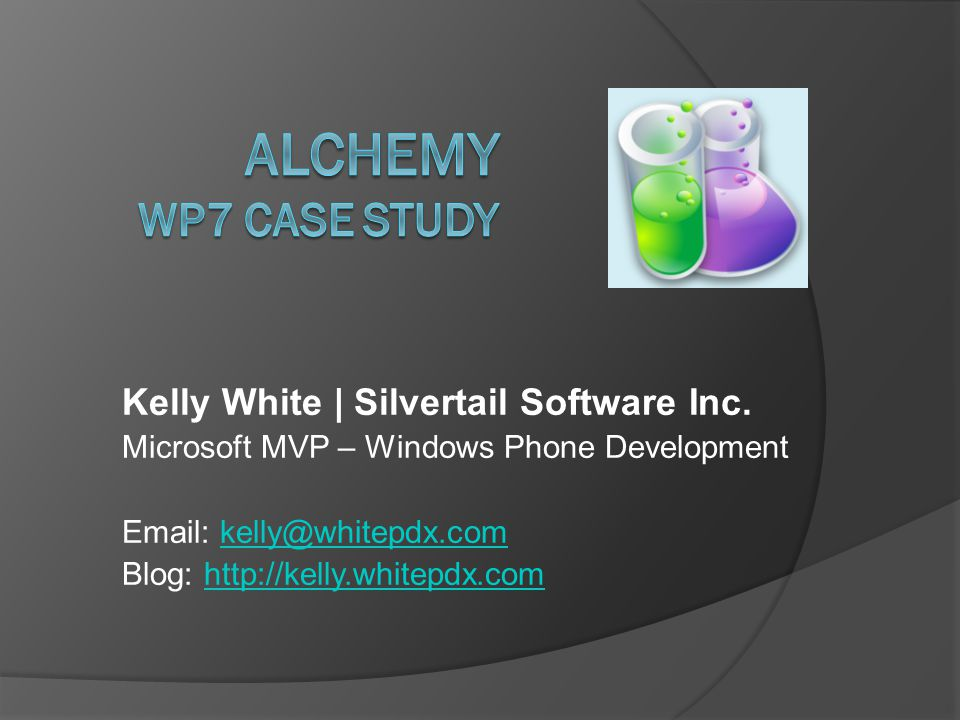 First Published  Alchemy v1.0 published on March 31, 2011 ○ (2 months + 4 days ago)  Alchemy Free v1.0 published on April 9, 2011 ○ (2 months – 5 days ago)  NOTE: 3 business days from submission to approval for new apps.