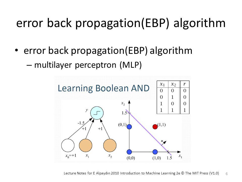 Outline Neural Architectures Parity-N Problem Suitable Architectures Use Minimum Network Size Conclusion 17