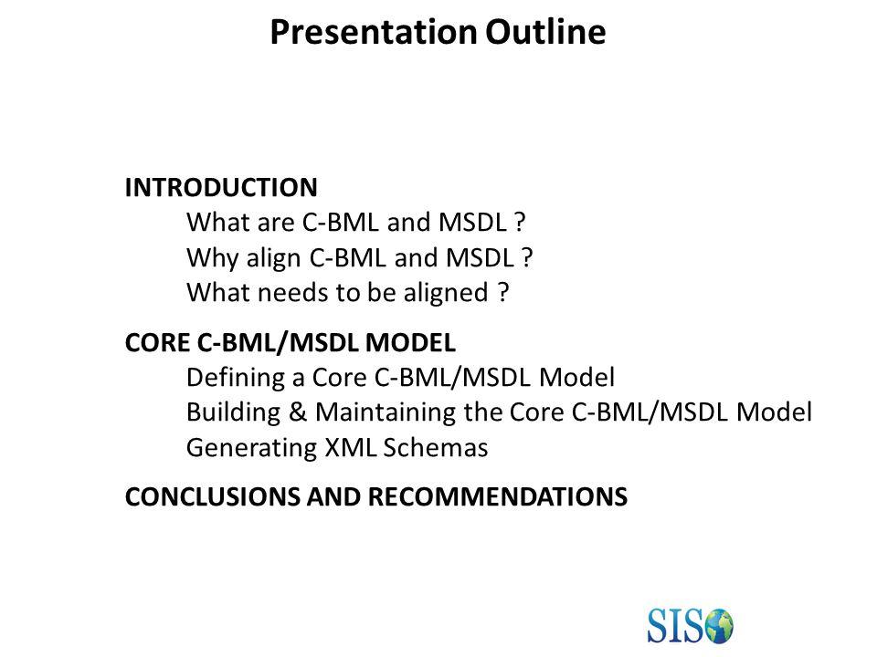 MIP Change Proposal (CP) Processor MSDL/C-BML Core Model Generation Procedure