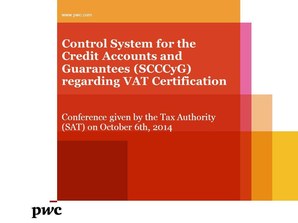 PwC 913 Companies certified for VAT purposes.