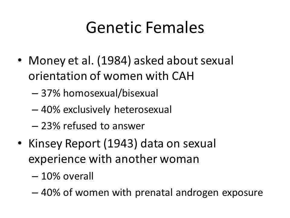 Genetic Females Money et al.