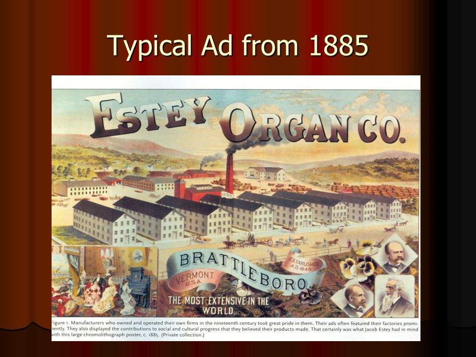 Typical Ad from 1885