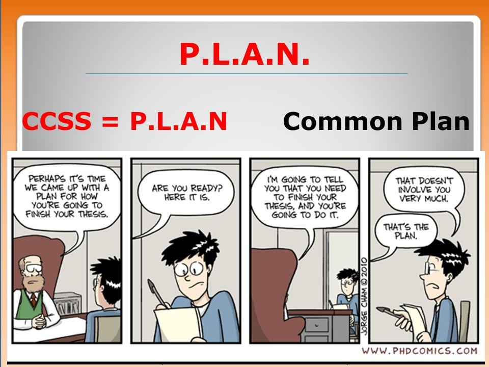 Plan Assessment Types
