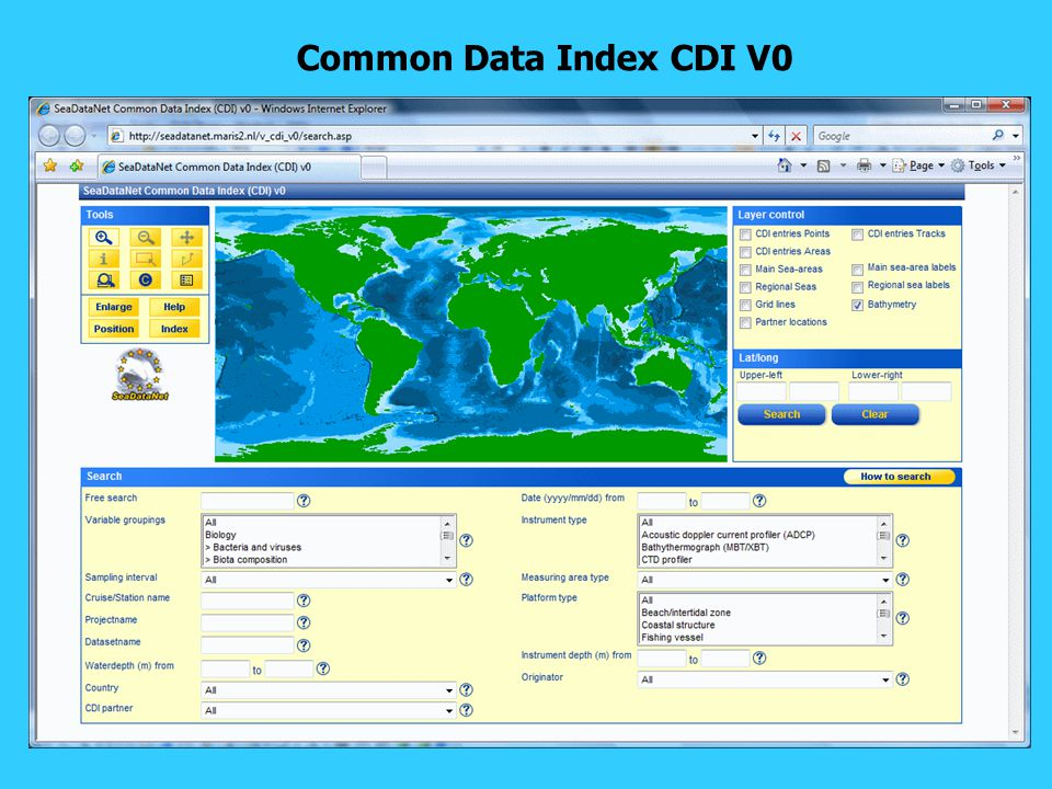 Common Data Index CDI V0