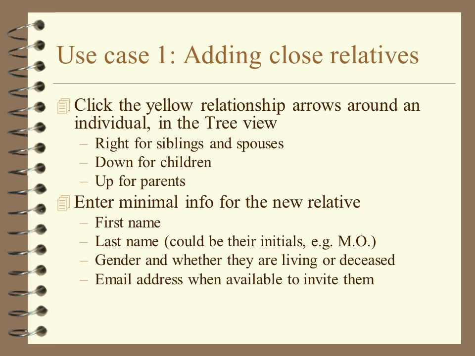Use case 2: How am I related to XYZ.