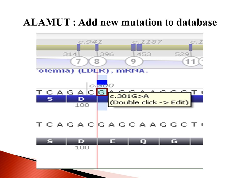 ALAMUT : Add new mutation to database