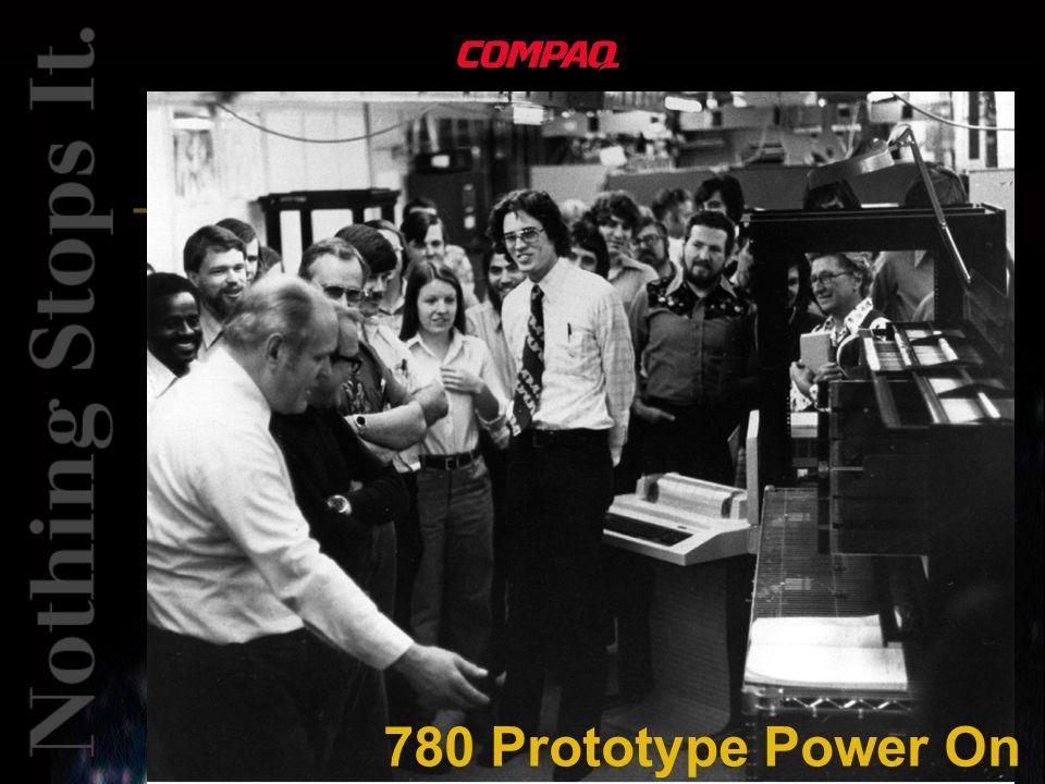 780 Prototype Power On