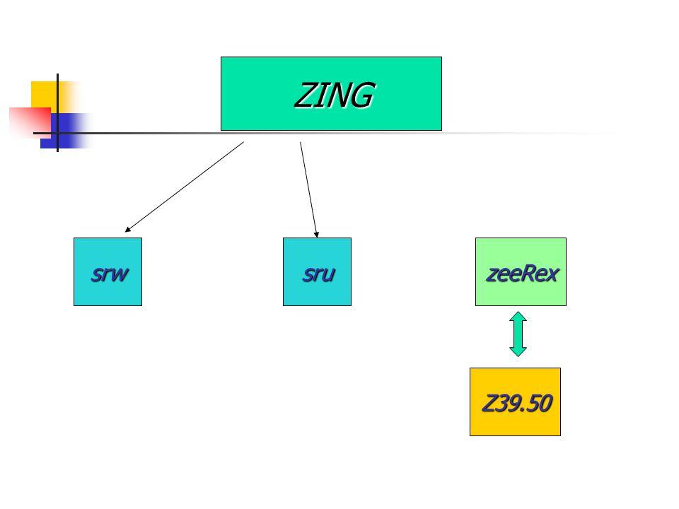 ZING srwsruzeeRex Z39.50
