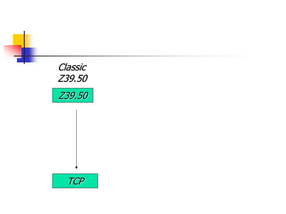 Z39.50 TCP Classic Z39.50