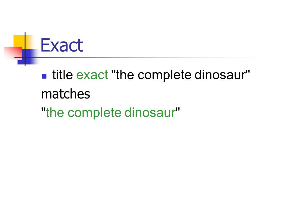Exact title exact the complete dinosaur matches the complete dinosaur