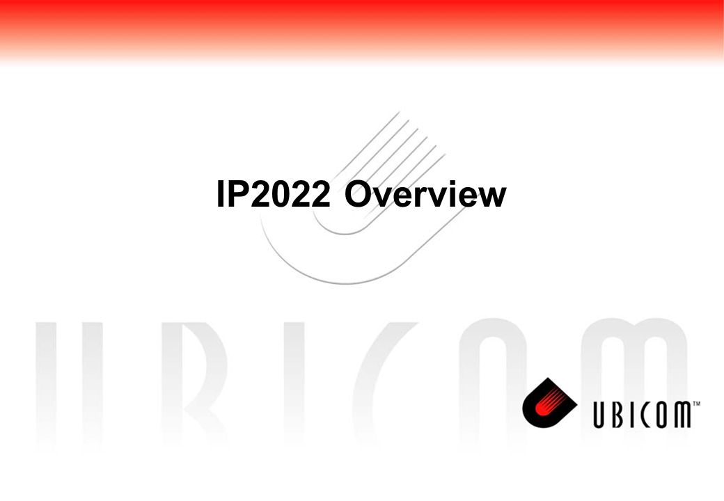 IP2022 Overview