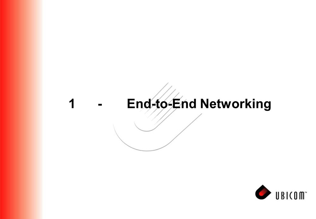 1-End-to-End Networking