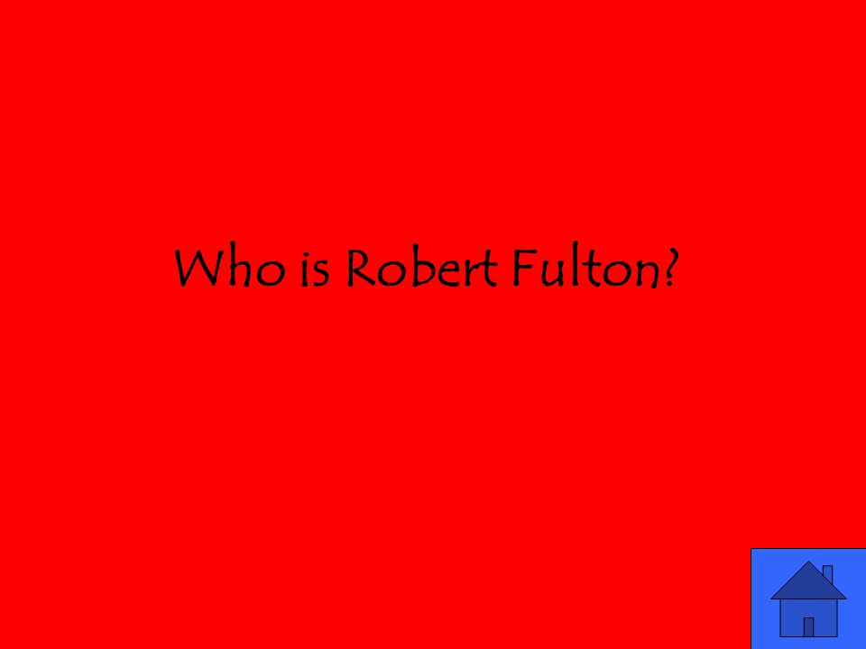 Who is Robert Fulton