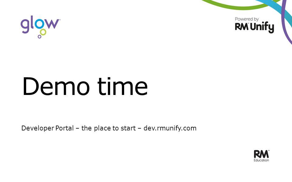 Demo time Developer Portal – the place to start – dev.rmunify.com