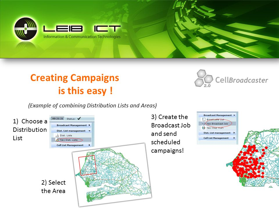 Creating Campaigns is this easy .