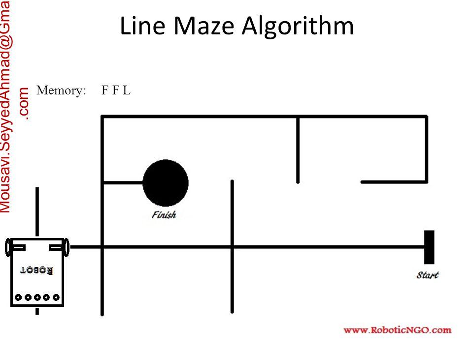 Mousavi.SeyyedAhmad@Gmail.com Memory: F F L Line Maze Algorithm
