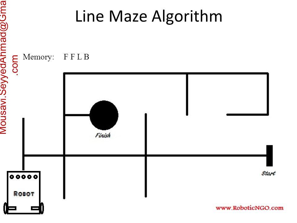 Mousavi.SeyyedAhmad@Gmail.com Memory: F F L B Line Maze Algorithm