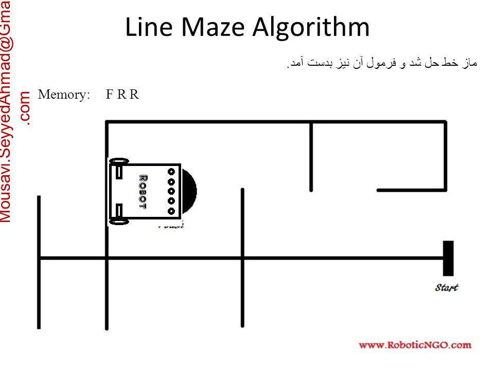 Mousavi.SeyyedAhmad@Gmail.com Memory: F R R ماز خط حل شد و فرمول آن نیز بدست آمد.