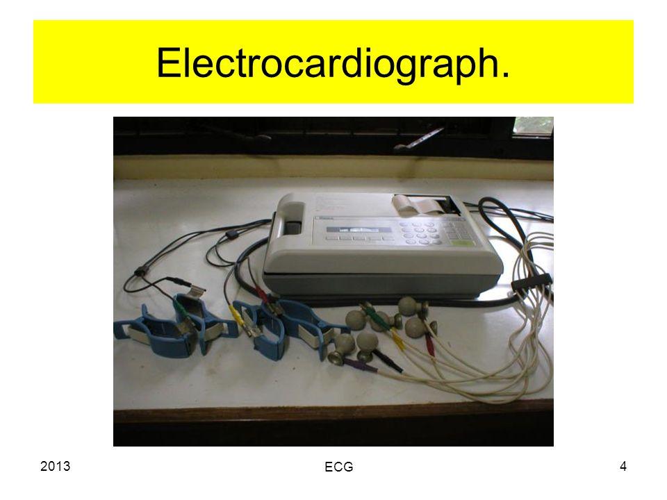 2013 ECG 4 Electrocardiograph.