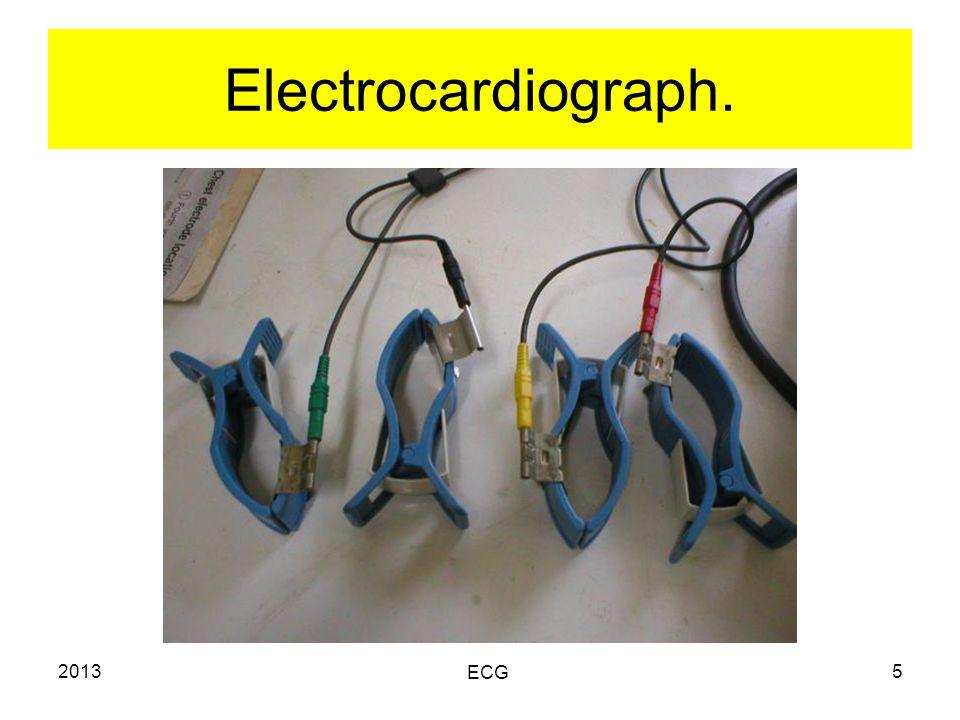 2013 ECG 5 Electrocardiograph.