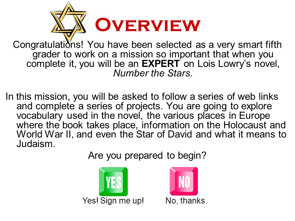 Number the Stars By Lois Lowry WebQuest by Sunny Thornton Edited by Mrs. Brewton Click to Enter