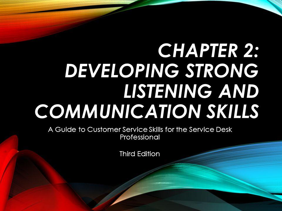 32 Ch. 2: Listening & Communication Skills NONVERBAL COMMUNICATION PART 2 OF 3