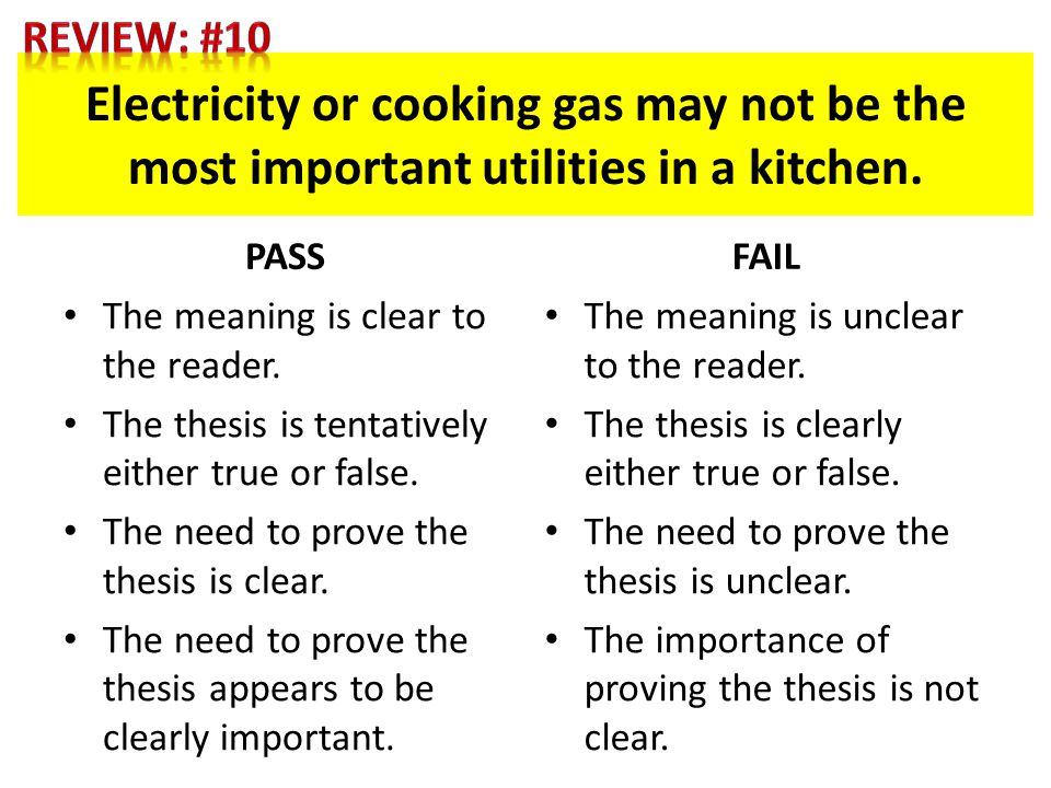 Electricity or cooking gas may not be the most important utilities in a kitchen.