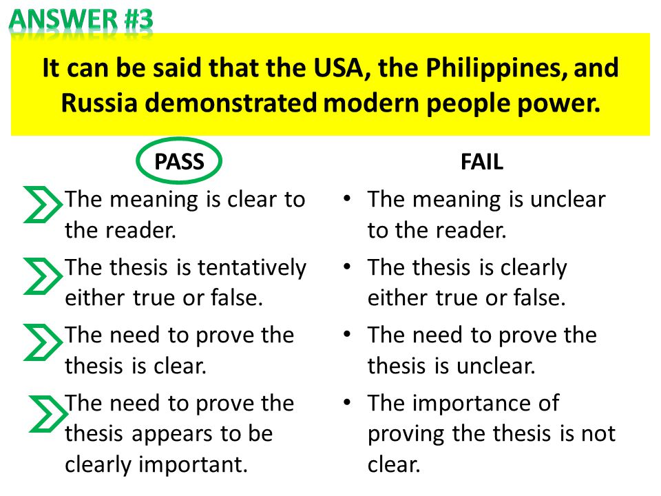 It can be said that the USA, the Philippines, and Russia demonstrated modern people power.