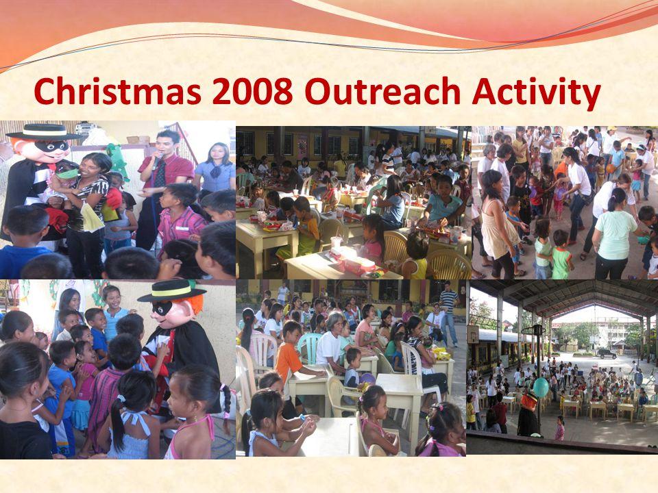 Christmas 2008 Outreach Activity