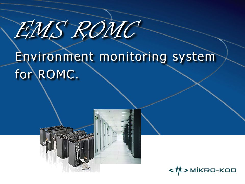 Alarm system Tracking the signal of digital inputs alarms and fireproof, backup power system etc.