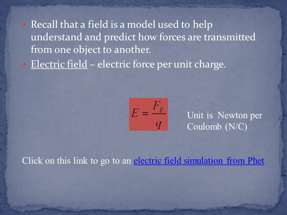 Direct Current (DC) – charge flows in one direction.