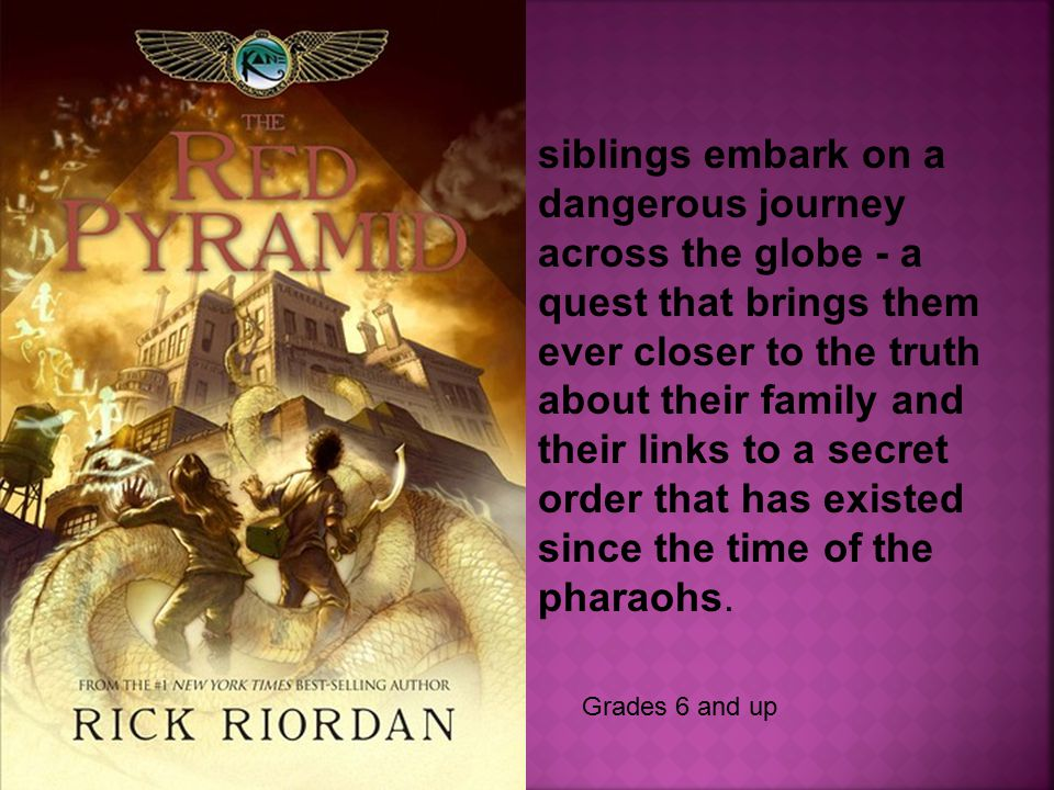 siblings embark on a dangerous journey across the globe - a quest that brings them ever closer to the truth about their family and their links to a secret order that has existed since the time of the pharaohs.
