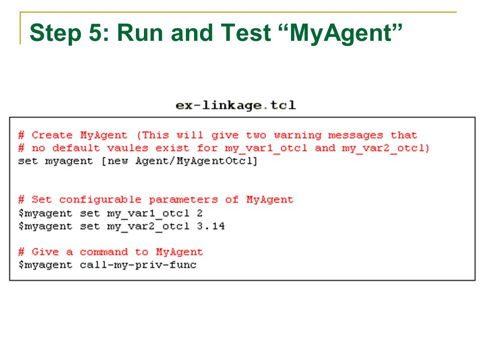 Step 5: Run and Test MyAgent