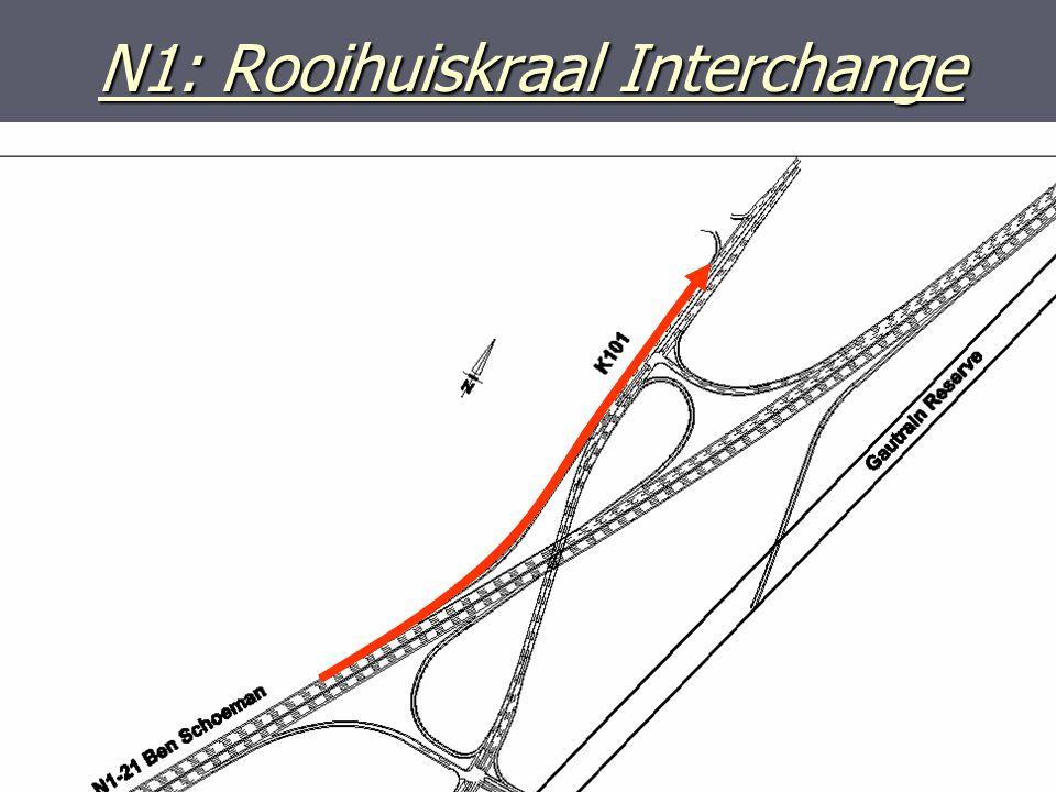 N1: Rooihuiskraal Interchange