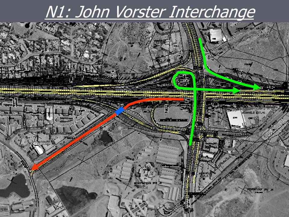 JOHN VORSTER INTERCHANGE N1: John Vorster Interchange