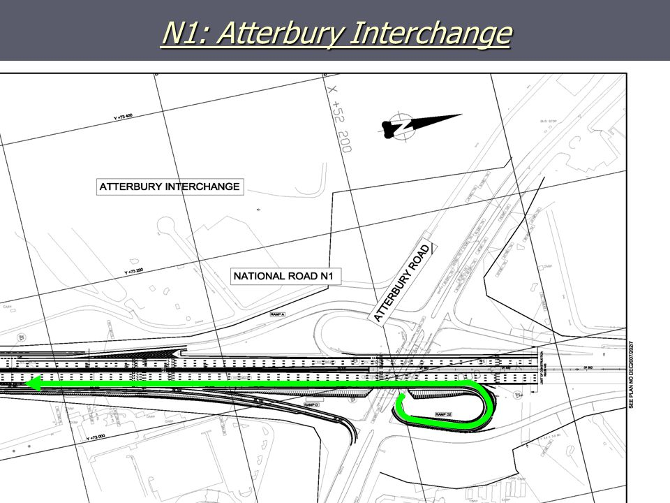 N1: Atterbury Interchange
